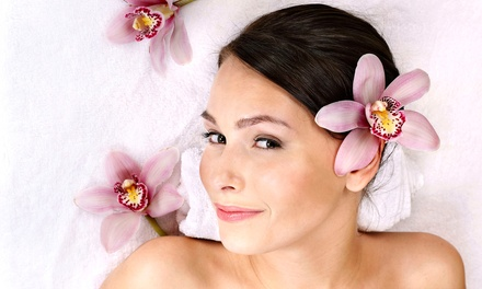 One-Hour Massage and Eye Treatment, Facial and Eye Treatment, or Both at Saggio Spa (Up to 62% Off)