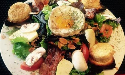 Entrée, plat et dessert au choix pour 2 personnes à 49,90 € au restaurant Le Meltinpot