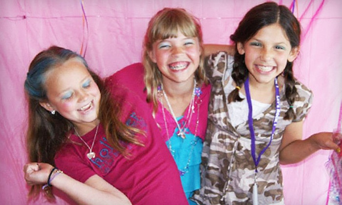 Spa-tastic  - Newark: One Week of Girl's Sparkle Super Model Camp or Party Package for Five at Spa-tastic in Carmel (Half Off)