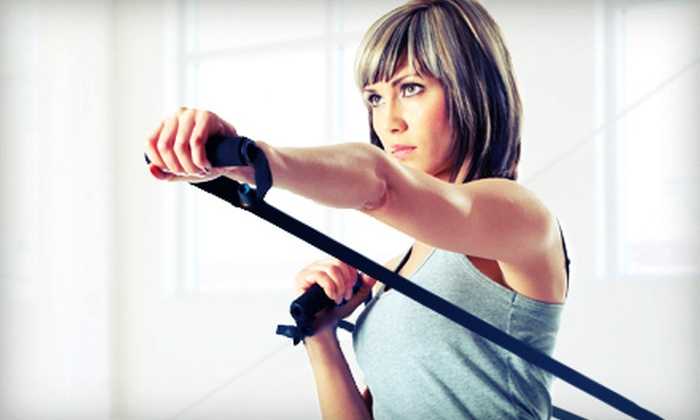 Resort Fitness - Downtown: 5, 10, or 15 TRX-Xtreme Boot Camp Classes at Resort Fitness in San Mateo (Up to 87% Off)