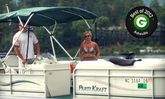 Lake Lure Adventure Company - Lake Lure: Two-Hour Kayak or Paddleboard Rental or Three-Hour Pontoon-Boat Rental at Lake Lure Adventure Company (Up to 63% Off)