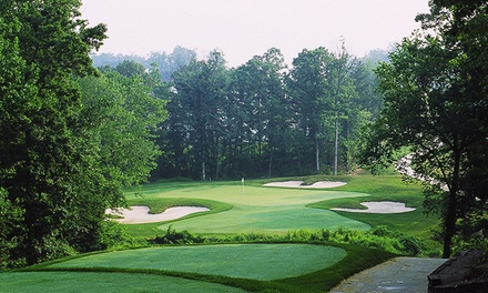 $32 for 18-Hole Round of Golf with Cart & Bucket of Range Balls at Cross Creek Golf Club ($62 Value)