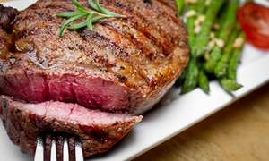 Brazos Cattle Company: $12 for $20 Worth of Steakhouse Fare at Brazos Cattle Company