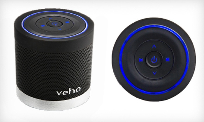 Veho 360-Degree M4 Bluetooth Wireless Speaker : $29 for a Veho 360-Degree M4 Bluetooth Wireless Speaker ($99.95 List Price)