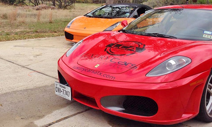 LCA - Multiple Locations: Three Laps in Ferrari or Lamborghini at LCA-Austin (Up to 50% Off). Six Options Available.