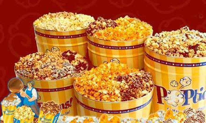 POPtions! - Ladue: $15 Toward Tins of Popcorn