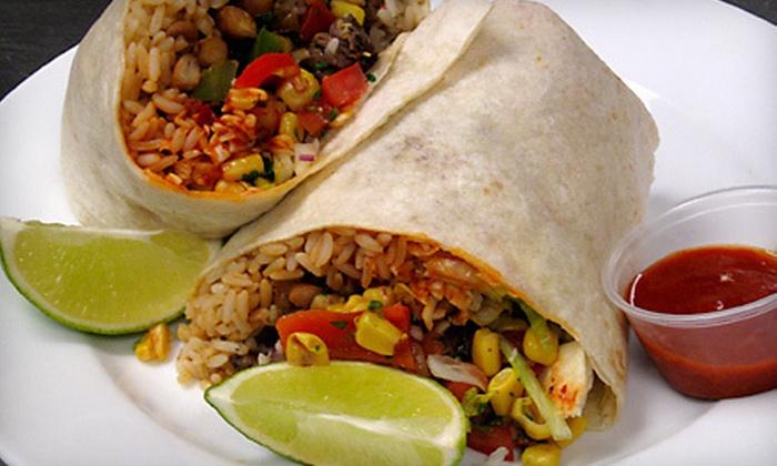 El Burrito Cubano - Camden Industrial: $15 for Five Burritos or Sandwiches at El Burrito Cubano (Up to $35 Value)