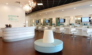 $35 For A Blowout With Choice Of Hot Tool Styling Or Eyelash Application At Primp And Blow ($55 Value)