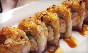 Up to 55% Off Japanese-Mexican Fusion Cuisine at Senor Sushi