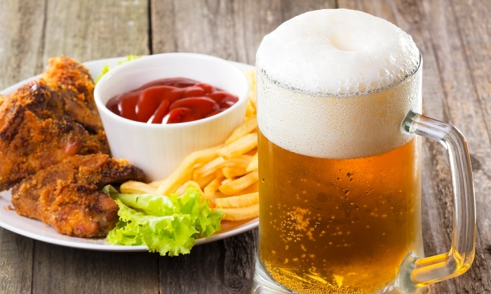 Paddy Whacks Irish Sports Pub - Multiple Locations: Pub Food at Paddy Whacks Irish Sports Pub (Up to 48% Off). Two Options Available.