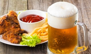 Paddy Whacks Irish Sports Pub: Pub Food at Paddy Whacks Irish Sports Pub (Up to 48% Off). Two Options Available.