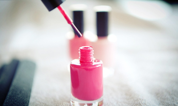 Rachel Lane at the Fringe Hair Salon - Lincoln: One Manicure or One or Three Shellac Manicures from Rachel at the Fringe Hair Salon (Up to 53% Off)