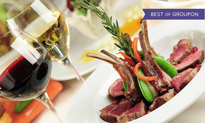 Anaheim White House - Southwest Anaheim: Five-Course Dinner with Wine for Two or Four at Anaheim White House (40% Off)