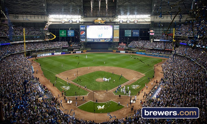 Milwaukee Brewers - Miller Park: One Ticket to a Milwaukee Brewers Game at Miller Park (Up to Half Off). Five Seating Options and Four Games Available.