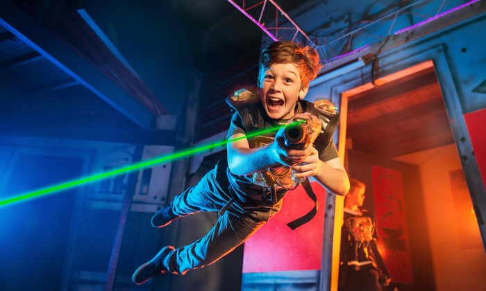 Laser City - Laser City: Two Laser-Tag Games for Two, Four, or Six at Laser City (Up to 47% Off)