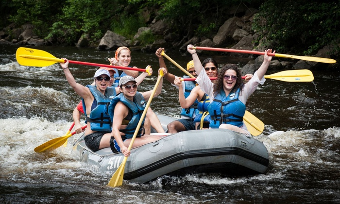 Whitewater Rafting - 11th Ave & West 45th Street: Whitewater Rafting on the Lehigh River with Lunch and Transportation