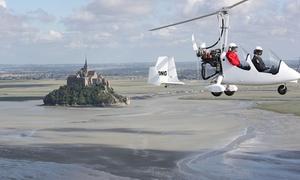 Normandie ULM Mont Saint Michel: Vol en ULM en baie du Mont Saint Michel, falaises de Champeaux, baie de Cancale, plages, Granville dès 50 €