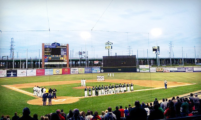Gary SouthShore RailCats - United States Steel Yard: Gary SouthShore RailCats Baseball Game Package for Two or Four at U.S. Steel Yard on May 27, 28, or 29 (Up to 56% Off)