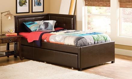Frankfort Corner Trundle Bed Groupon Goods