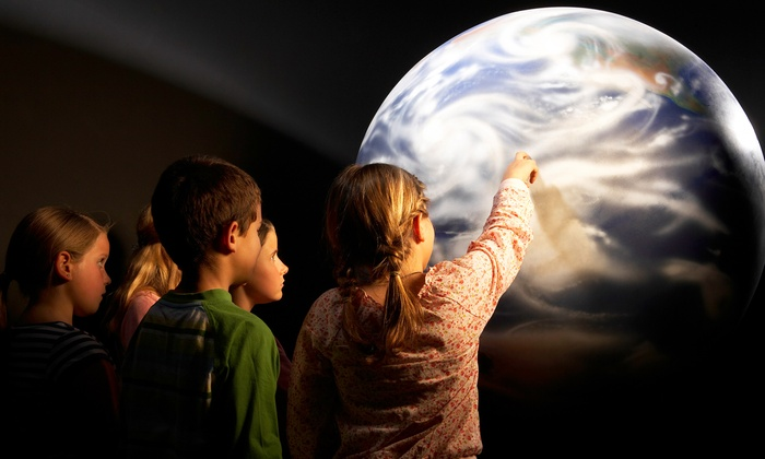 Houston Museum of Natural Science - The Museum District: Butterfly Center or Planetarium Visit for Two, Four, or Six at Houston Museum of Natural Science (Up to 53% Off)