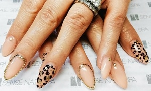 Sènsé Nail Spa: $59 for customized nail art and an Initial Set of Liquid Gel Nails at Sènsé Nail Spa ($100 Value)