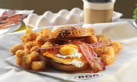 $6.50 for Two Groupons, Each Good for $5 at BGR The Burger Joint ($10 TotalValue)