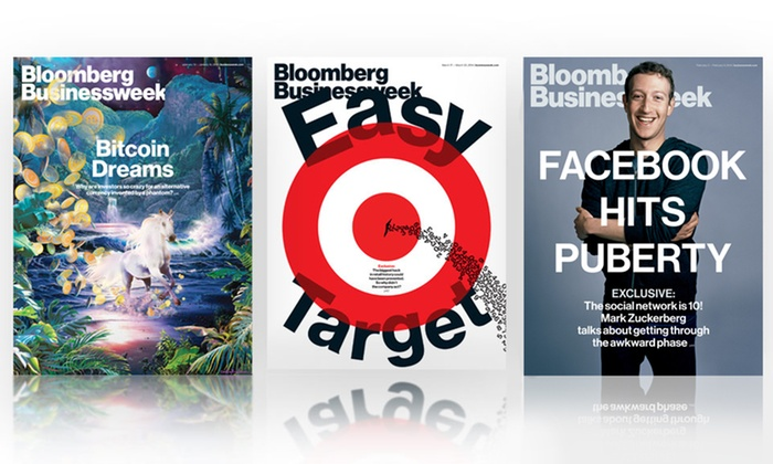 """Bloomberg Businessweek"": One- or Two-Year Subscription to ""Bloomberg Businessweek"" with iPad and iPhone Access (53% Off)"
