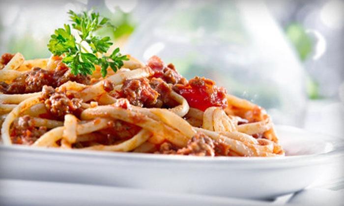 Italian Touch Restaurant - White Rock: Meal for Two or Four at Italian Touch Restaurant (Half Off)