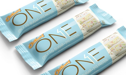 Ohyeah One Birthday Cake Or Lemon Cake Protein Bars 12