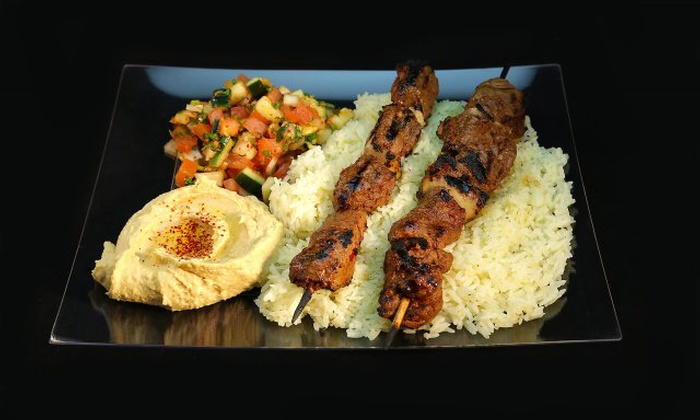 Stephano's Greek and Mediterranean Grill - Multiple Locations: $12 for $20 Worth of Mediterranean Cuisine at Stephano's Greek and Mediterranean Grill