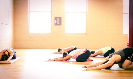 One or Three Months of Unlimited Zumba and Yoga Classes at Tranquil Yoga Studio (Up to 79% Off)