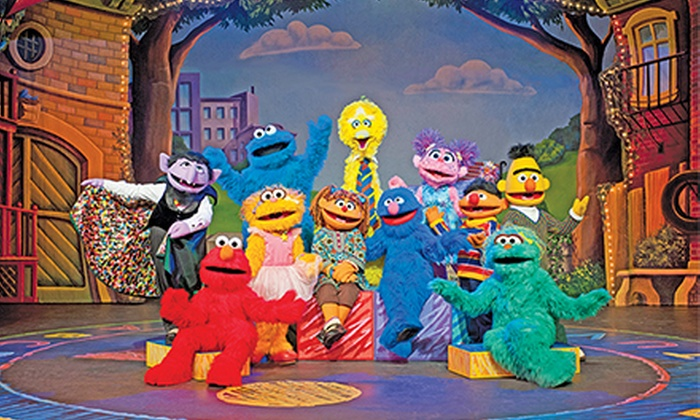 """Sesame Street Live: """"Make A New Friend"""" - Minneapolis: """"Sesame Street Live: Make a New Friend"""" at Target Center on Friday, January 24, at 6 p.m. (Up to 49% Off)"""