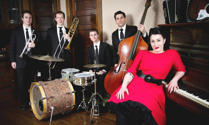 Davina and The Vagabonds - Historic Everett Theatre: Davina and The Vagabonds at Historic Everett Theatre on Friday, February 21, at 8 p.m. (Up to 58% Off)