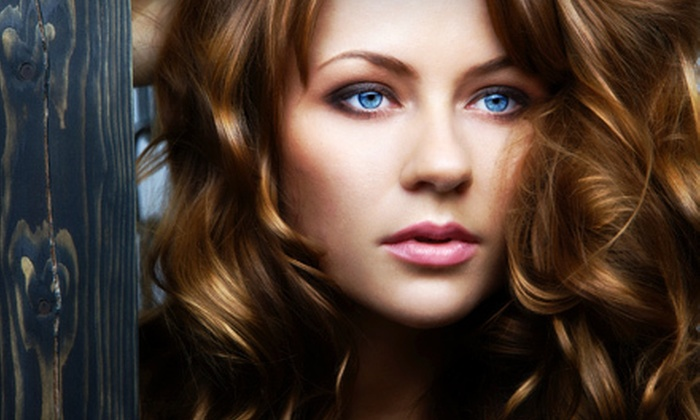 Eutopia Beauty Studio - Verona: Full or Partial Highlights with Wash and Blowout at Eutopia Beauty Studio (Up to 65% Off)