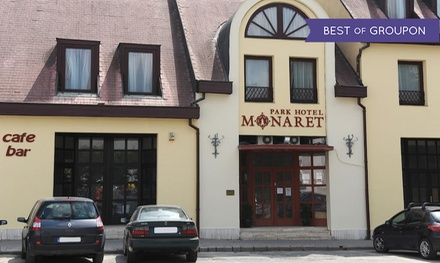 Węgry-Eger: 1-5 nocy dla 2 osób ze śniadaniami, wejściem do łazi termalnych i więcej w Park Hotel Minaret