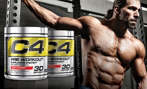 Cellucor C4 Pre-Workout Powder Supplement at Cellucor C4 Pre-Workout Powder Supplement, plus 9.0% Cash Back from Ebates.
