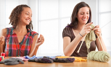 Three or Six Knitting Classes at Yarnover in Avon (Half Off)
