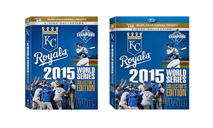2015 World Series Collector's Edition on 8 DVDs or Blu-rays (Preorder)