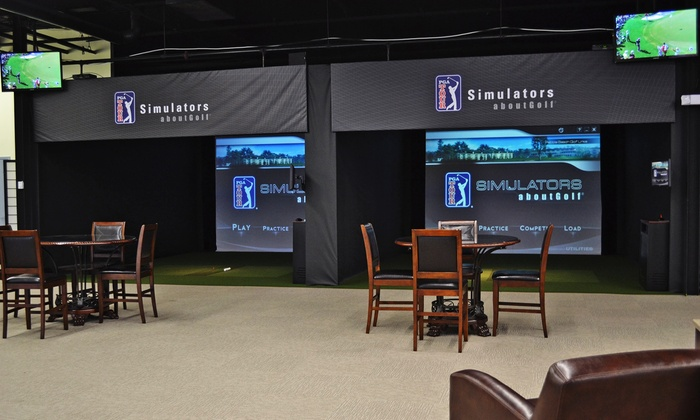 The Players Club - Paramus: One or Two Hours in Golf Simulator at The Players Club (Up to 46% Off). Four Options Available.