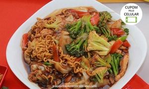 Kittara Sushi: Kittara Sushi – Portão: combinado de salmão, yakisoba de frango e hot filadélfia para 2 ou 4 pessoas