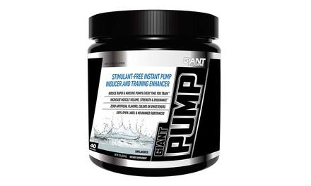 Giant PUMP Non-Stimulant Pre-Workout Powder (40 Servings)