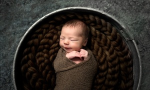 Chrystal and Lucas Photography: 86% Off Newborn Photoshoot at Chrystal and Lucas Photography