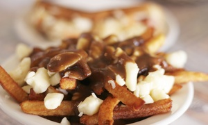 Poutine 66: CC$12 for CC$20 Worth of Poutine, Wings, and Salads for Takeout from Poutine 66