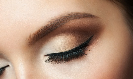 Three, Five, or Ten Eyebrow-Threading Sessions at Ginni's Art (Up to 56% Off)