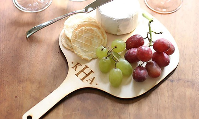 Morgann Hill Designs: One or Two Personalized Cheese Boards from Morgann Hill Designs (Up to 51% Off)