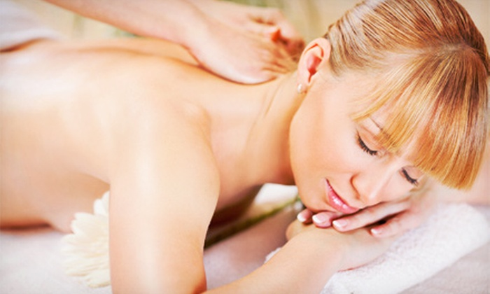 """Jess"" a ""Lill"" Rub by Ruby - Village Center: Swedish Massage, Environmental Facial, or Pamper Yourself Spa Package at ""Jess"" a ""Lill"" Rub by Ruby (Up to 51% Off)"