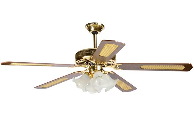 Ventilatore a soffitto groupon goods for Ikea lampadario ventilatore