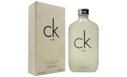 Calvin Klein CK One Unisex Eau de Toilette (6.7 Fl. Oz.)