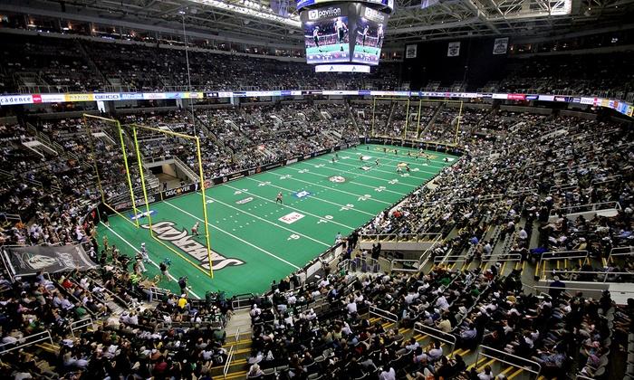 San Jose SaberCats vs. Tampa Bay Storm - SAP Center at San Jose: San Jose SaberCats Arena Football Game  at the SAP Center on July 11 at 7:30 p.m.  (Up to 52% Off). Six Seating Options.