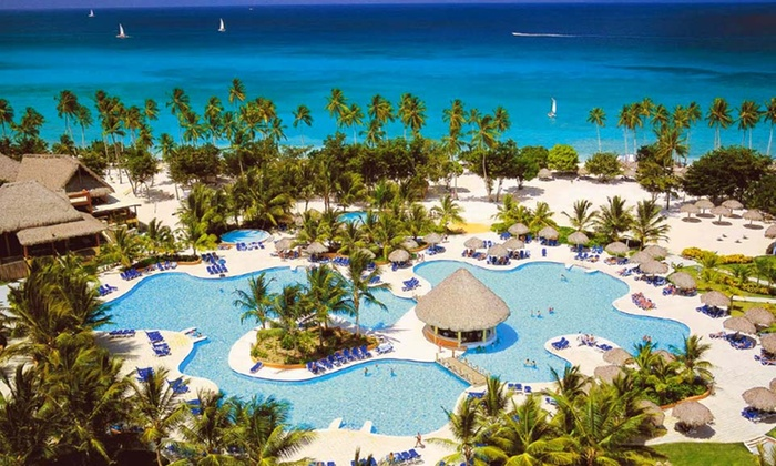 All-Inclusive Be Live Canoa Resort Vacation with Airfare from Vacation Express - La Romana, Dominican Republic: 3-, 4-, 5-, 6-, or 7-Night All-Inclusive Dominican Stay with Airfare. Price/Person Based on Double Occ. Tax/Fees Incl.